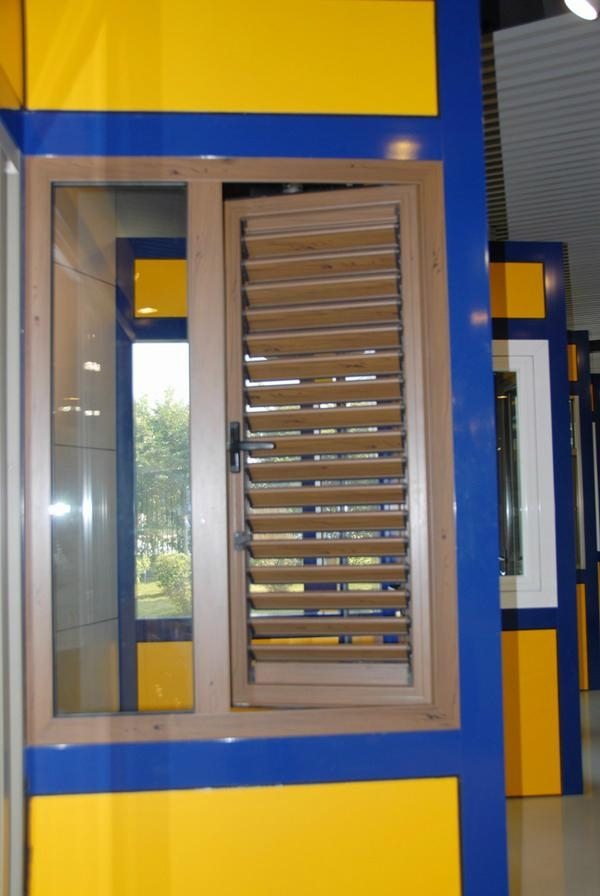 aluminium glass window shutters and blades 1