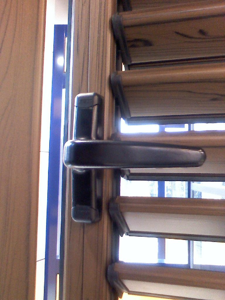 aluminium glass window shutters and blades 2