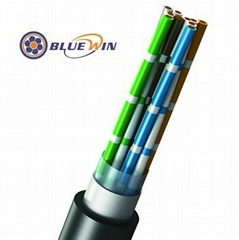 Underground Telephone Cable