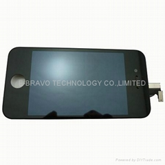 iphone4s lcd+digitizer assembly black