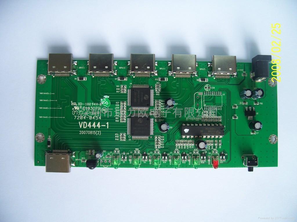 HDMI转换器代料加工 1