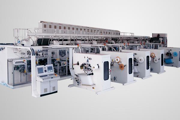 高速伺服衛生巾機械