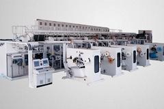 Fully servo control sanitary napkin machine  800/1000