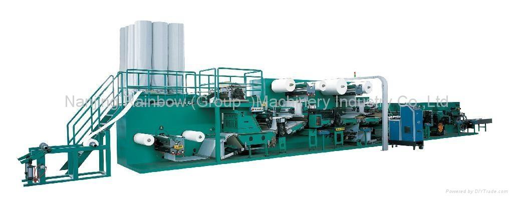 食品垫生产线(吸水(吸血)垫生产设备) 3