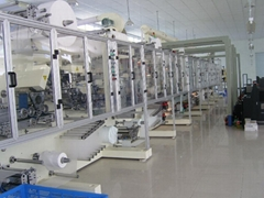High speed baby diaper equipment