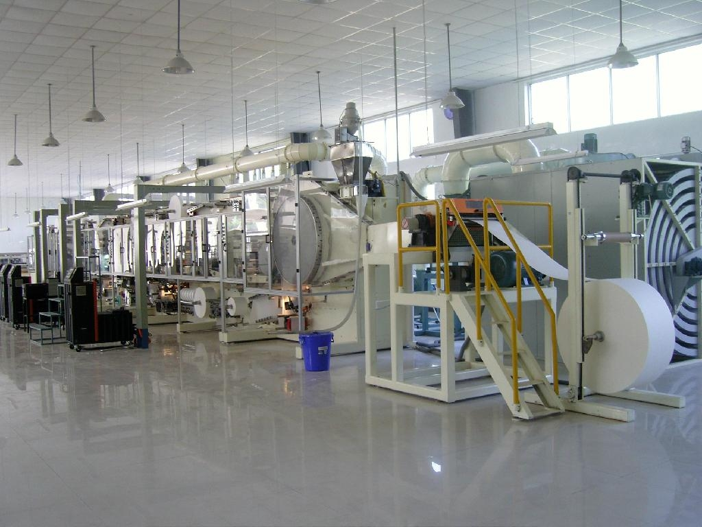 Baby Diaper Production Line Tzh Nk400 China