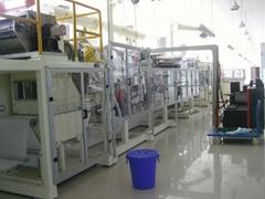 護理墊機械設備(吸水墊、吸血墊