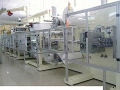 Nursing pad machine equipment