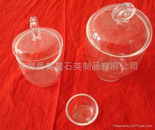 quartz glass crucible 1