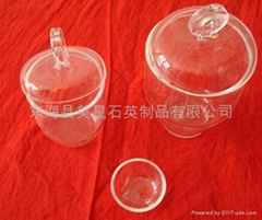 quartz glass crucible