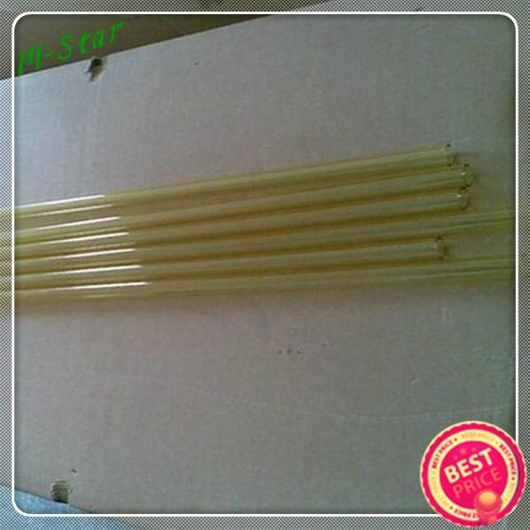 Diversion pipe laser transmitter UV filter yellow quartz glass tube  3