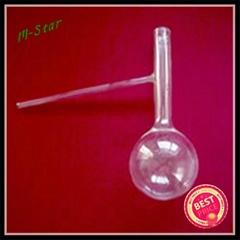 Quartz Retorts Quartz glass distillation flask