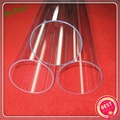 high quality clear quartz glass tubes