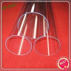 high quality clear quartz glass tubes