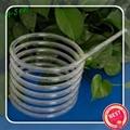 high temperature spiral quartz glass tubing 5
