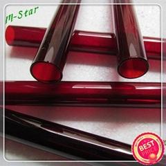 红色石英玻璃管