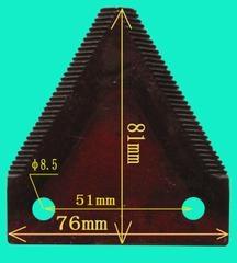 Φ8.5孔收割機國標1型動刀片