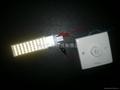 LED G24Q調光橫插燈管1