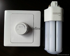 GX24Q 0-10V調光燈