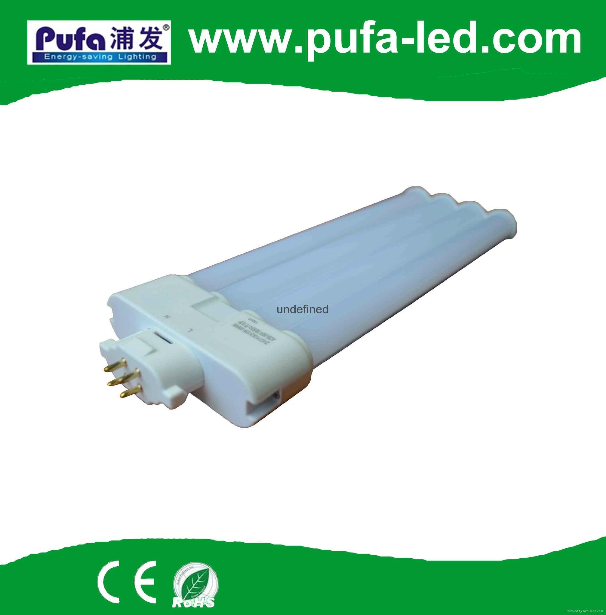 GX10Q LED横插灯管 9W 4