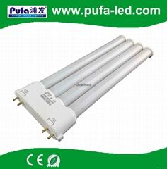 2G10 LED橫插燈管 9W