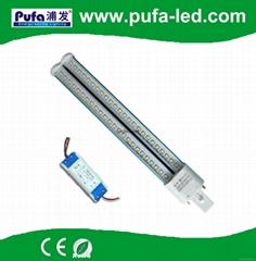G23 LED PL节能灯 12W 外置电源