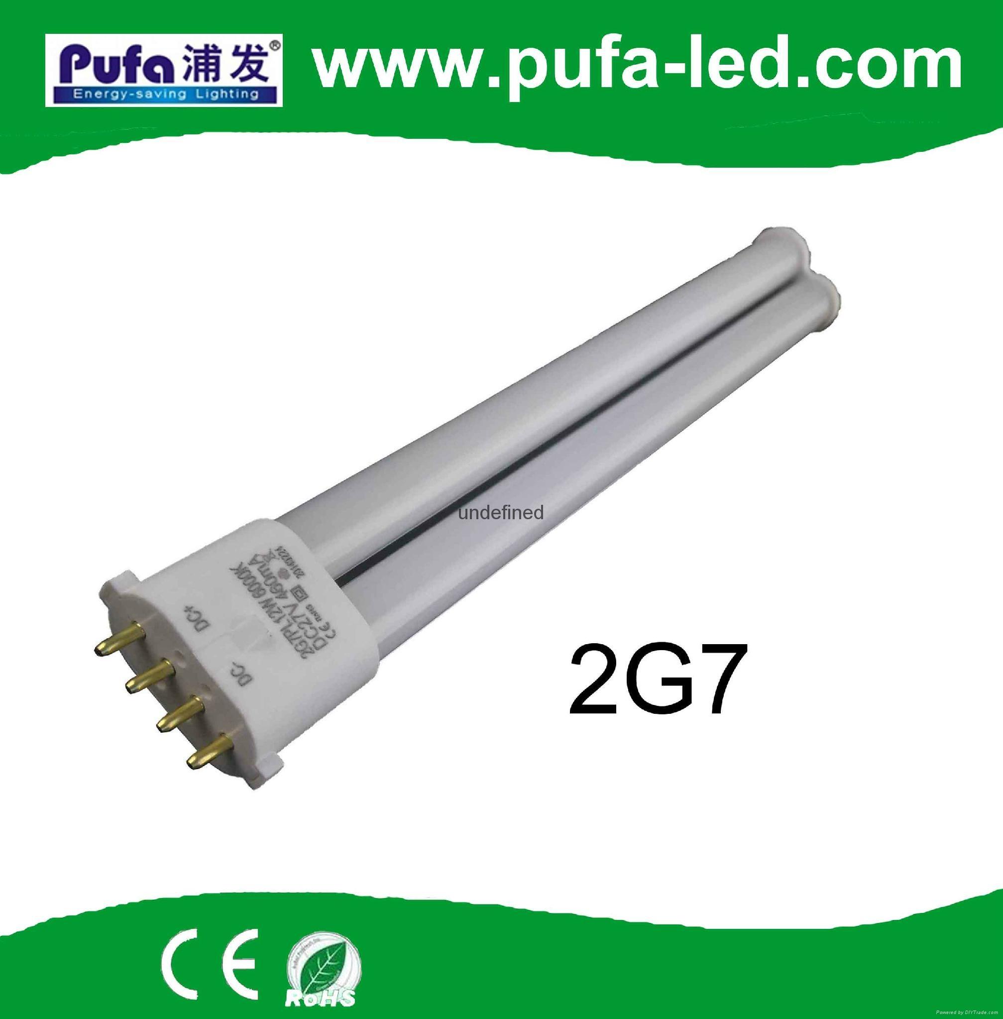 2G7 LED PL节能灯 12W 外置电源 1