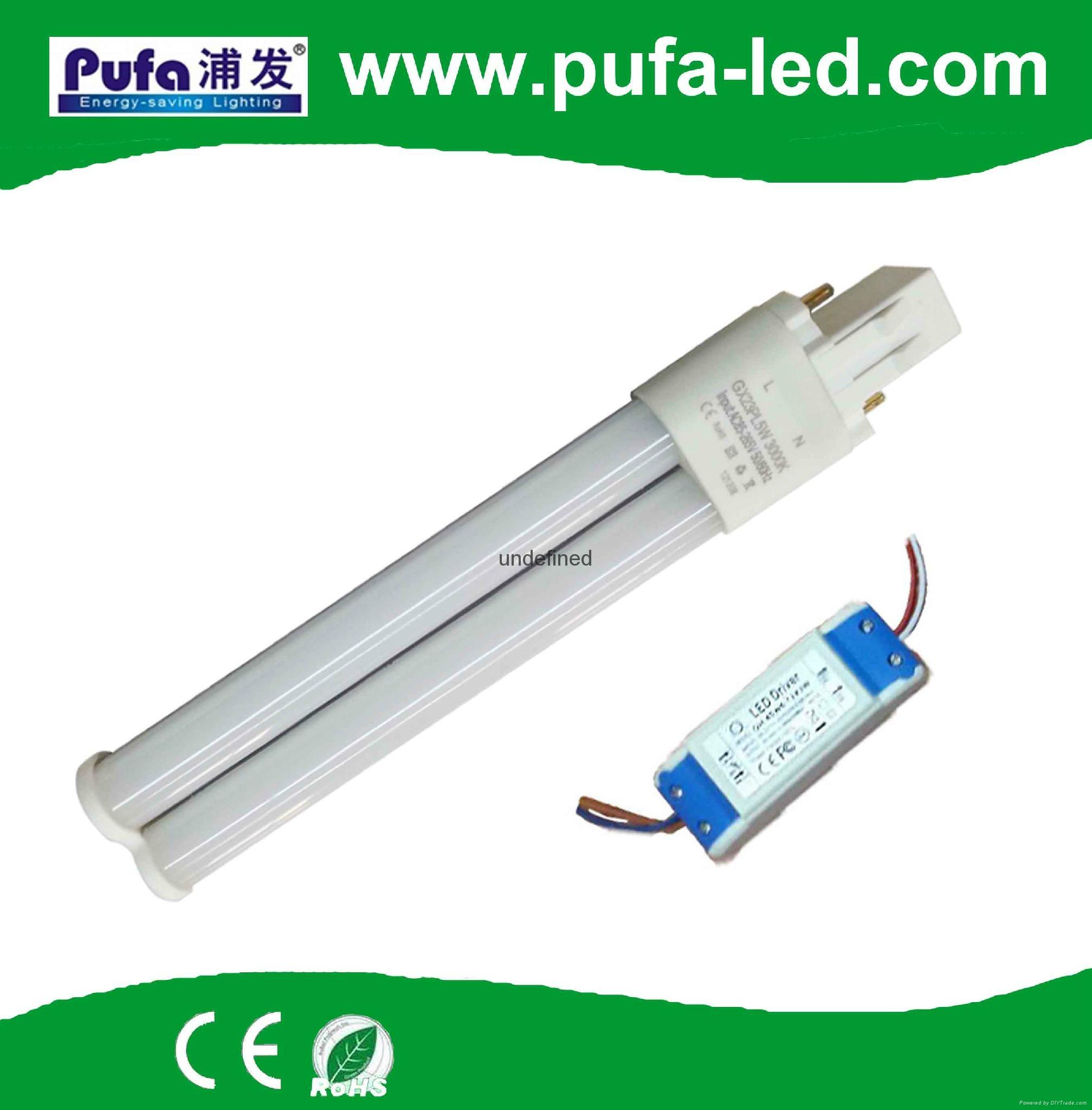 LED PLS Lamp GX23 12W external driver 1