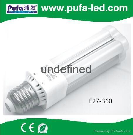 LED E26 E27 360° 橫插燈泡 1