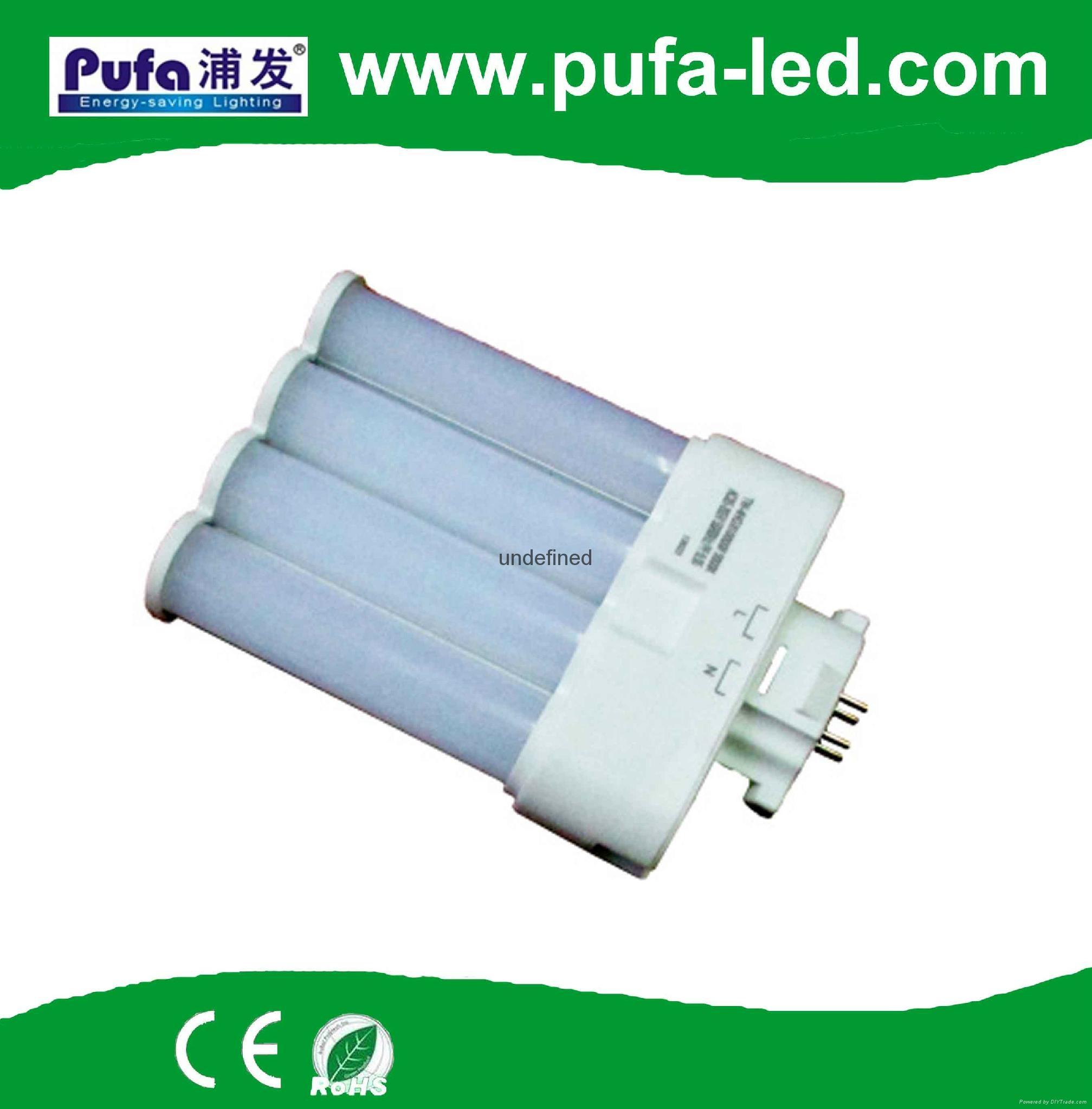 GX10Q LED横插灯管 9W 3