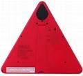 防水LED移動閃爍三角警示牌 3