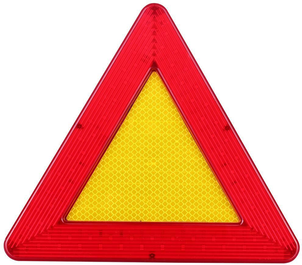 防水LED移動閃爍三角警示牌 2