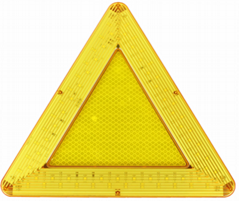 防水LED移动闪烁三角警示牌