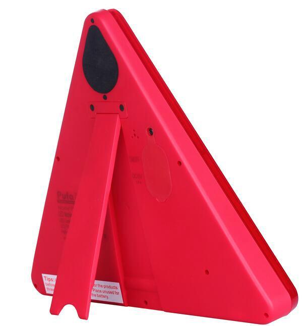 防水LED移動閃爍三角警示牌 4