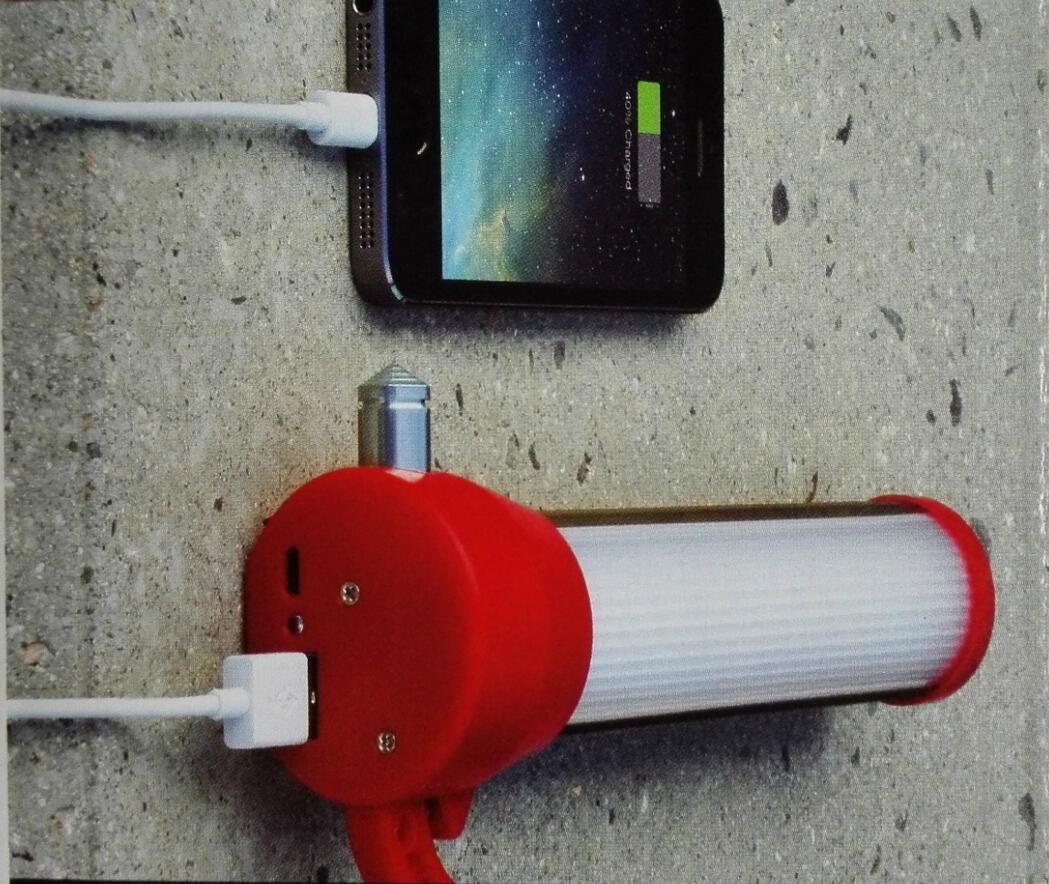 LED多功能便攜安全破窗錘應急照明燈閃爍警告燈SOS 11