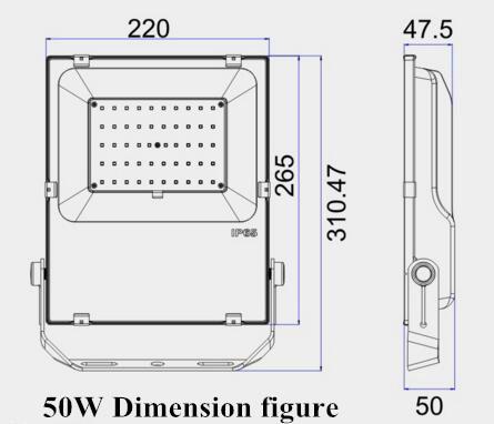 50W超薄投光灯 8