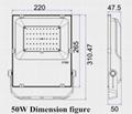 50W超薄投光燈 8