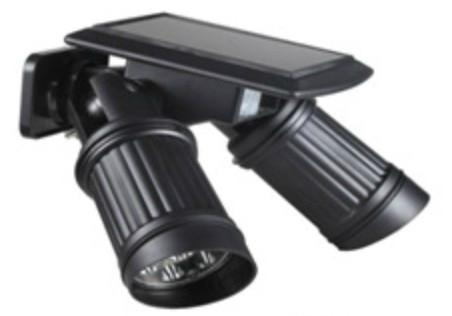 LED Double head solar lnduction wall lamp 2