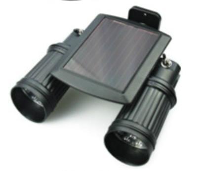 雙頭太陽能感應壁燈 1