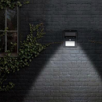 太陽能感應庭院燈 2