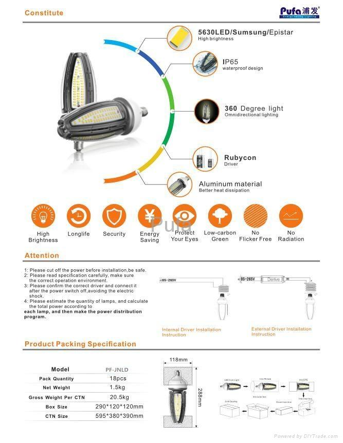 大功率玉米燈50W 5