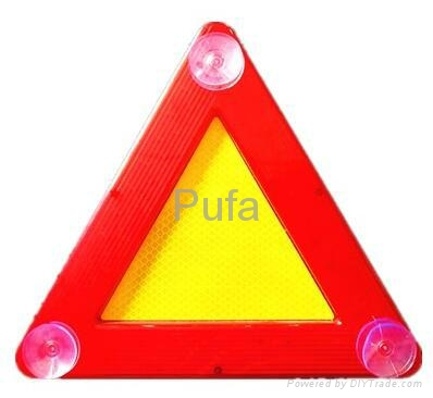 ip65防水型LED三角警示牌閃爍爆閃警告牌 5
