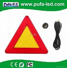 LED遙控三角警示牌ip65防水型