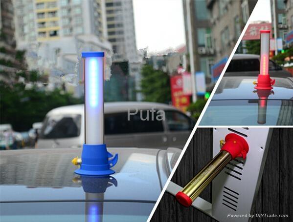汽車用多功能安全破窗錘警告燈便攜照明燈 3