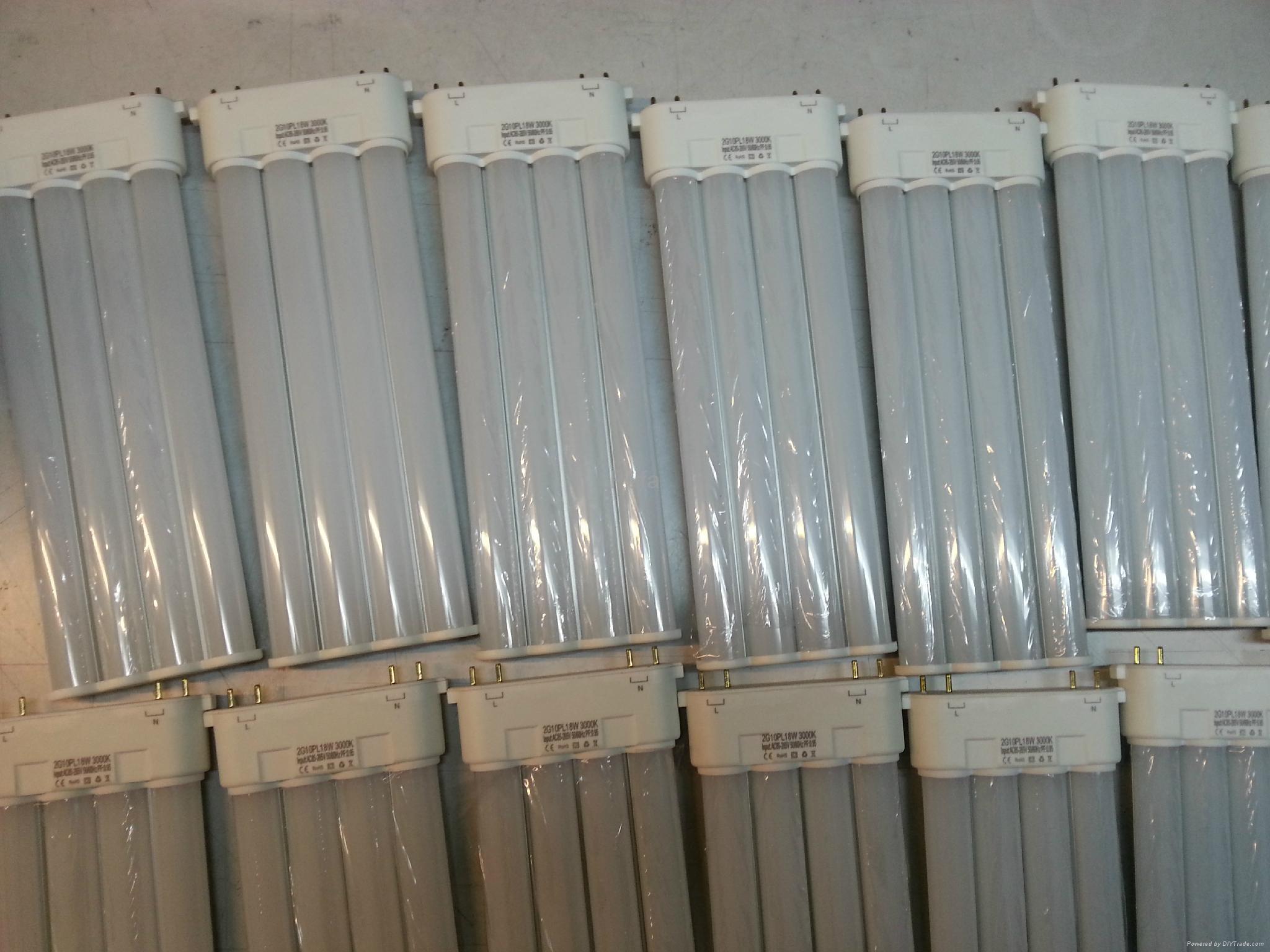 2G10 LED橫插燈管 13W 4
