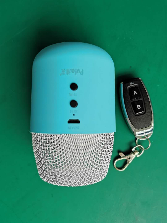 無線遙控居家冰箱汽車用小面積臭氧除臭紫外線滅菌燈 5