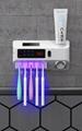 智能紫外线牙刷杀菌器卫生间置物