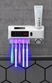 Intelligent ultraviolet toothbrush