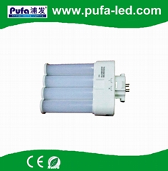 GX10Q LED横插灯管 9W