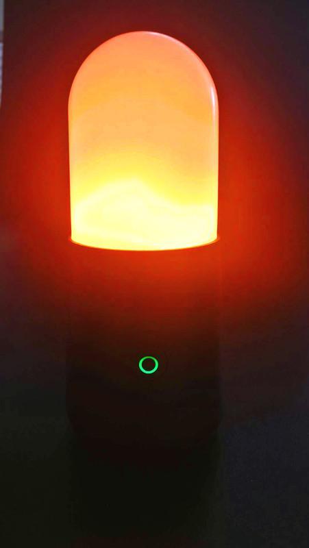 LED便攜火焰燈火把燈KTV酒吧婚慶戶外露營場所 9